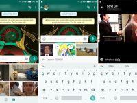 WhatsApp'ın Android  V2.17.6 Beta sürümünde GIF arama ve gönderme desteği geldi!