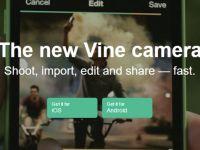 Vine artık Vine Camera olarak mağazalarda yerini aldı!