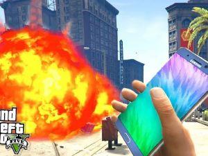 GTA Oyununda Note 7 Bomba Modu!